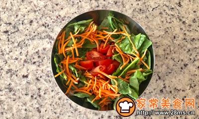 减肥杀手锏:鸡肉蔬菜沙拉的做法图解6