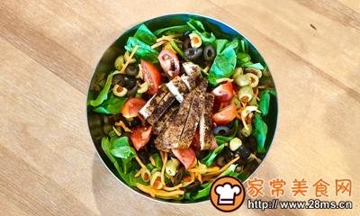 减肥杀手锏:鸡肉蔬菜沙拉的做法图解8