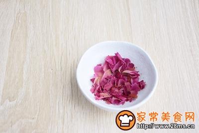 貌美如花的玫瑰山药糕的做法图解3