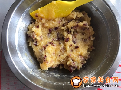 蔓越莓椰蓉面包的做法图解10