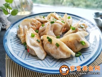 美味煎饺的做法图解4