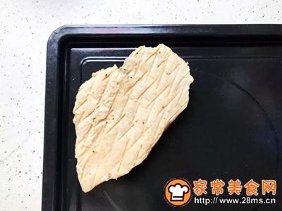 鸡胸肉果蔬沙拉的做法图解2