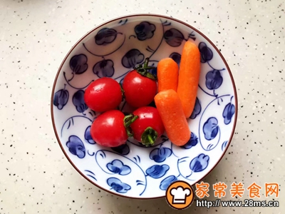 鸡胸肉果蔬沙拉的做法图解3