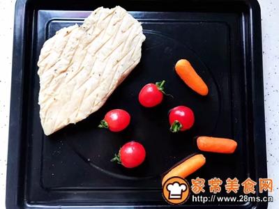 鸡胸肉果蔬沙拉的做法图解4