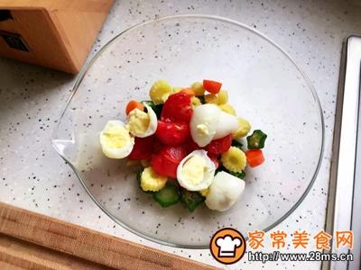 鸡胸肉果蔬沙拉的做法图解22