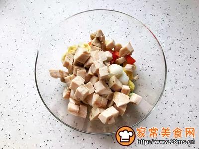 鸡胸肉果蔬沙拉的做法图解23
