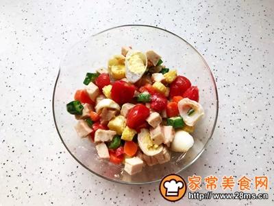鸡胸肉果蔬沙拉的做法图解26