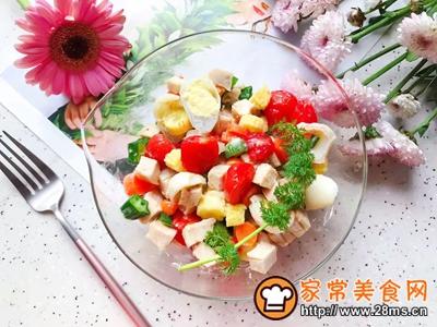 鸡胸肉果蔬沙拉的做法图解27