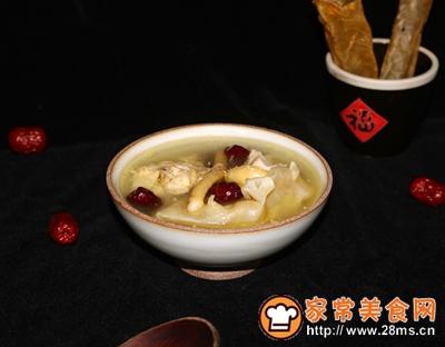 女神入秋必备汤水红枣花胶炖土鸡的做法图解12