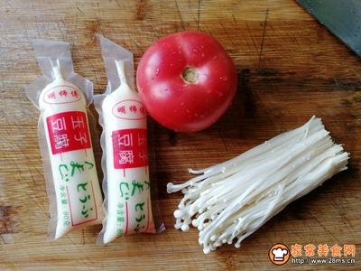 番茄金针菇豆腐汤的家常做法口☆口口☆口