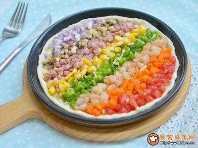彩虹披萨的做法图解14