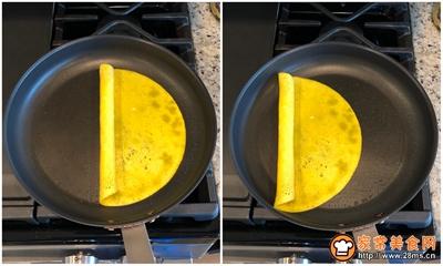 有趣的鸡蛋卷的做法图解4