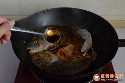 东北铁锅炖鱼的做法图解11