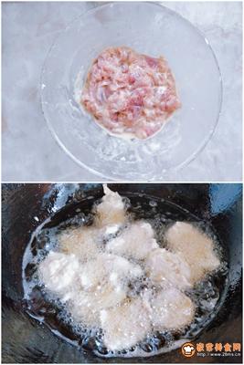 传统东北锅包肉的做法图解2