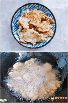 传统东北锅包肉的做法图解3