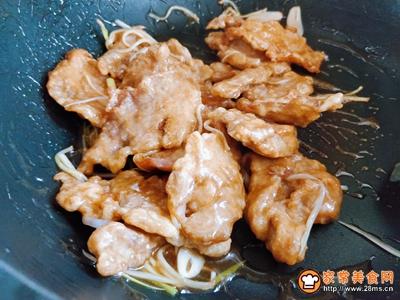 传统东北锅包肉的做法图解6