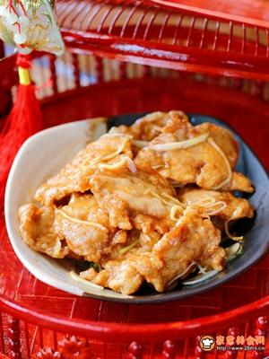传统东北锅包肉的做法图解7