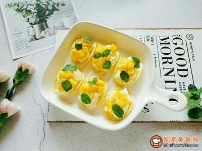 芒果薯泥沙拉的做法图解7
