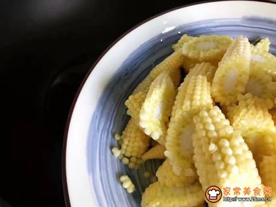 白玉菇炒玉米笋的做法图解7