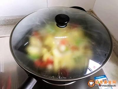 白玉菇炒玉米笋的做法图解14