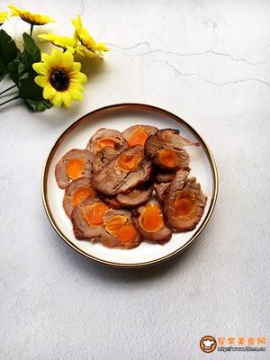 咸蛋叉烧肉的做法图解10