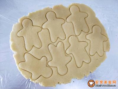 手拉手饼干的做法图解5