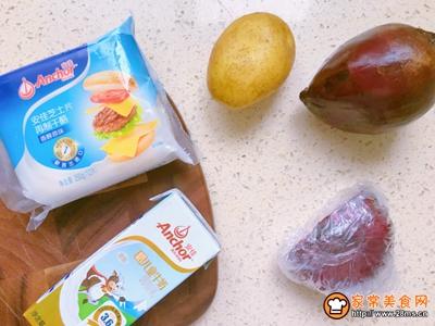 爱我中华爱国版甜菜根浓汤的做法图解1