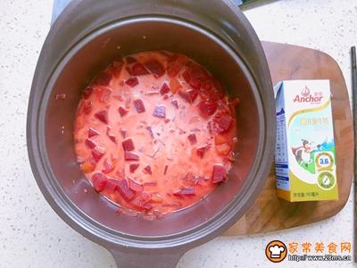 爱我中华爱国版甜菜根浓汤的做法图解6