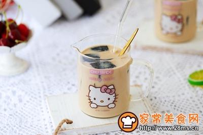 仙草奶茶的做法图解16