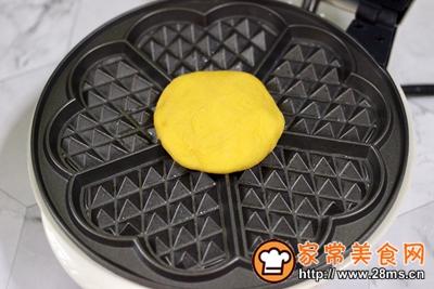 南瓜酸奶华夫饼的做法图解12