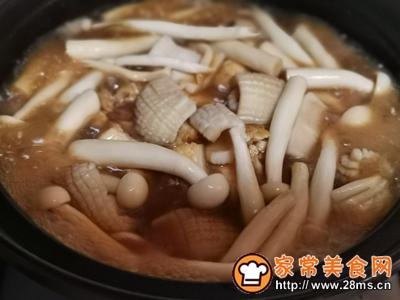 海鲜豆腐煲的做法图解6