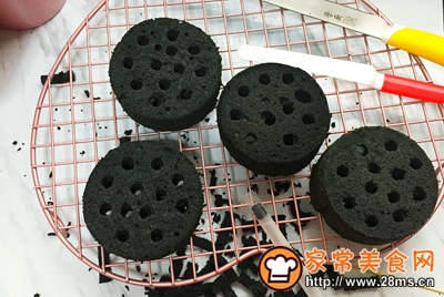 煤炭蛋糕的做法图解19