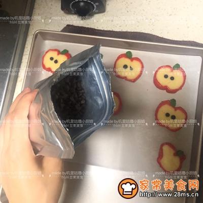 卡哇伊红苹果曲奇饼干的做法图解31