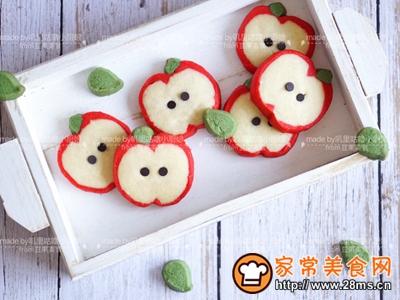 卡哇伊红苹果曲奇饼干的做法图解33