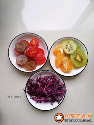 越南蒜香蔬果春卷沙拉的做法图解5