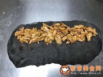 墨鱼咖喱鸡肉软欧的做法图解5