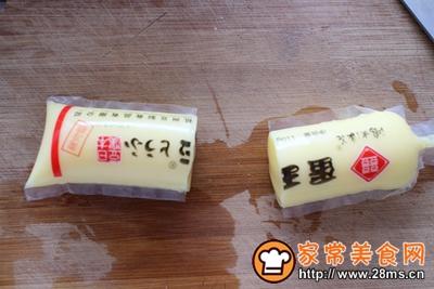 肉末蒸玉子豆腐的做法图解2
