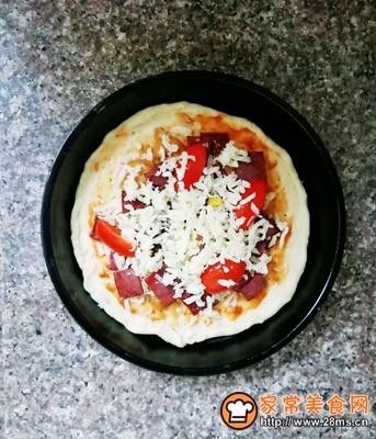 培根披萨的做法图解8