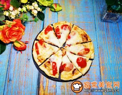 培根披萨的做法图解10