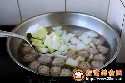 羊肉丸子冬瓜汤的做法图解15