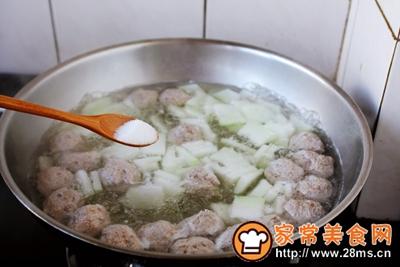 羊肉丸子冬瓜汤的做法图解16