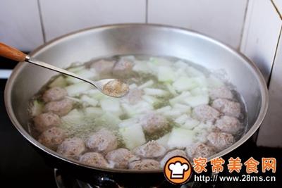 羊肉丸子冬瓜汤的做法图解17