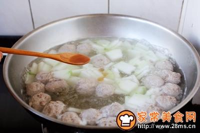 羊肉丸子冬瓜汤的做法图解19