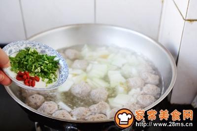 羊肉丸子冬瓜汤的做法图解20