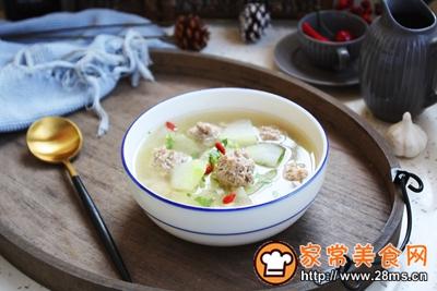 羊肉丸子冬瓜汤的做法图解22
