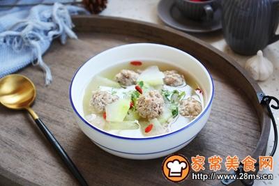 羊肉丸子冬瓜汤的做法图解23