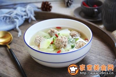 羊肉丸子冬瓜汤的做法图解24