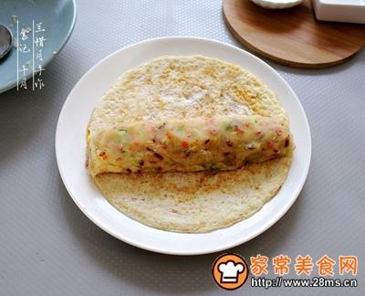 早餐小食波点蛋卷土豆泥沙拉的做法图解10