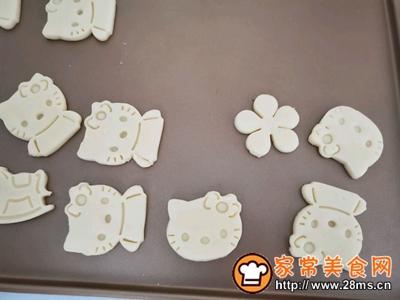 卡通饼干低糖香酥宝宝饼干的做法图解4