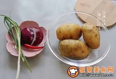 烧烤风味土豆角的做法图解1